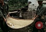 Image of US Army soldiers destroy shelled pagoda building Vietnam, 1968, second 43 stock footage video 65675021204