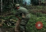 Image of US Army soldiers destroy shelled pagoda building Vietnam, 1968, second 55 stock footage video 65675021204
