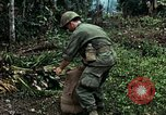 Image of US Army soldiers destroy shelled pagoda building Vietnam, 1968, second 57 stock footage video 65675021204
