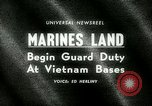 Image of Marines land in Vietnam South Vietnam, 1965, second 18 stock footage video 65675021205