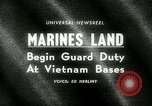 Image of Marines land in Vietnam South Vietnam, 1965, second 19 stock footage video 65675021205