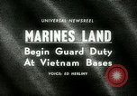 Image of Marines land in Vietnam South Vietnam, 1965, second 20 stock footage video 65675021205