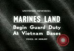 Image of Marines land in Vietnam South Vietnam, 1965, second 21 stock footage video 65675021205