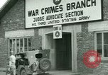 Image of Military tribunal begins for Franz Strasser Dachau Germany, 1945, second 20 stock footage video 65675021220