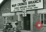 Image of Military tribunal begins for Franz Strasser Dachau Germany, 1945, second 22 stock footage video 65675021220
