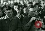 Image of testimony in trial of Franz Strasser Dachau Germany, 1945, second 2 stock footage video 65675021222