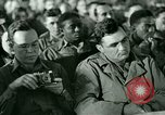Image of testimony in trial of Franz Strasser Dachau Germany, 1945, second 7 stock footage video 65675021222