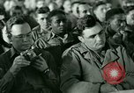 Image of testimony in trial of Franz Strasser Dachau Germany, 1945, second 8 stock footage video 65675021222