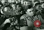 Image of testimony in trial of Franz Strasser Dachau Germany, 1945, second 9 stock footage video 65675021222
