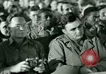 Image of testimony in trial of Franz Strasser Dachau Germany, 1945, second 10 stock footage video 65675021222