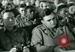 Image of testimony in trial of Franz Strasser Dachau Germany, 1945, second 11 stock footage video 65675021222