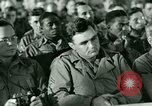 Image of testimony in trial of Franz Strasser Dachau Germany, 1945, second 12 stock footage video 65675021222