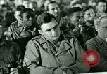 Image of testimony in trial of Franz Strasser Dachau Germany, 1945, second 13 stock footage video 65675021222