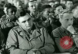 Image of testimony in trial of Franz Strasser Dachau Germany, 1945, second 14 stock footage video 65675021222