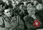 Image of testimony in trial of Franz Strasser Dachau Germany, 1945, second 15 stock footage video 65675021222