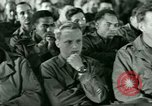 Image of testimony in trial of Franz Strasser Dachau Germany, 1945, second 17 stock footage video 65675021222