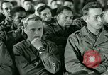 Image of testimony in trial of Franz Strasser Dachau Germany, 1945, second 18 stock footage video 65675021222