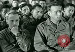 Image of testimony in trial of Franz Strasser Dachau Germany, 1945, second 19 stock footage video 65675021222