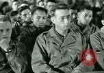 Image of testimony in trial of Franz Strasser Dachau Germany, 1945, second 20 stock footage video 65675021222