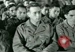 Image of testimony in trial of Franz Strasser Dachau Germany, 1945, second 21 stock footage video 65675021222