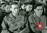 Image of testimony in trial of Franz Strasser Dachau Germany, 1945, second 22 stock footage video 65675021222