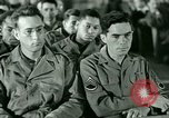 Image of testimony in trial of Franz Strasser Dachau Germany, 1945, second 23 stock footage video 65675021222