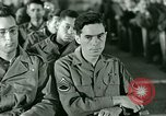 Image of testimony in trial of Franz Strasser Dachau Germany, 1945, second 24 stock footage video 65675021222