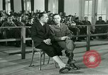Image of testimony in trial of Franz Strasser Dachau Germany, 1945, second 25 stock footage video 65675021222