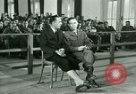 Image of testimony in trial of Franz Strasser Dachau Germany, 1945, second 27 stock footage video 65675021222
