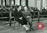 Image of testimony in trial of Franz Strasser Dachau Germany, 1945, second 31 stock footage video 65675021222