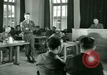 Image of testimony in trial of Franz Strasser Dachau Germany, 1945, second 33 stock footage video 65675021222