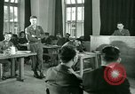 Image of testimony in trial of Franz Strasser Dachau Germany, 1945, second 34 stock footage video 65675021222