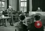Image of testimony in trial of Franz Strasser Dachau Germany, 1945, second 35 stock footage video 65675021222
