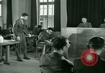 Image of testimony in trial of Franz Strasser Dachau Germany, 1945, second 51 stock footage video 65675021222