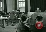 Image of testimony in trial of Franz Strasser Dachau Germany, 1945, second 52 stock footage video 65675021222