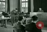 Image of testimony in trial of Franz Strasser Dachau Germany, 1945, second 55 stock footage video 65675021222