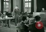 Image of testimony in trial of Franz Strasser Dachau Germany, 1945, second 58 stock footage video 65675021222