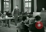 Image of testimony in trial of Franz Strasser Dachau Germany, 1945, second 59 stock footage video 65675021222