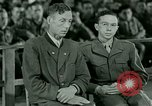 Image of testimony and sentencing of Franz Strasser Dachau Germany, 1945, second 2 stock footage video 65675021223