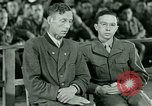 Image of testimony and sentencing of Franz Strasser Dachau Germany, 1945, second 4 stock footage video 65675021223
