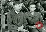 Image of testimony and sentencing of Franz Strasser Dachau Germany, 1945, second 5 stock footage video 65675021223
