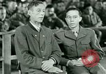 Image of testimony and sentencing of Franz Strasser Dachau Germany, 1945, second 13 stock footage video 65675021223