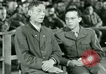 Image of testimony and sentencing of Franz Strasser Dachau Germany, 1945, second 14 stock footage video 65675021223