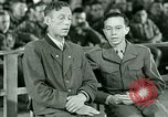 Image of testimony and sentencing of Franz Strasser Dachau Germany, 1945, second 15 stock footage video 65675021223