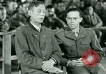 Image of testimony and sentencing of Franz Strasser Dachau Germany, 1945, second 16 stock footage video 65675021223
