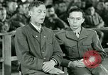 Image of testimony and sentencing of Franz Strasser Dachau Germany, 1945, second 17 stock footage video 65675021223