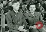 Image of testimony and sentencing of Franz Strasser Dachau Germany, 1945, second 20 stock footage video 65675021223