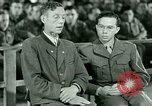 Image of testimony and sentencing of Franz Strasser Dachau Germany, 1945, second 22 stock footage video 65675021223