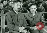 Image of testimony and sentencing of Franz Strasser Dachau Germany, 1945, second 24 stock footage video 65675021223