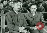 Image of testimony and sentencing of Franz Strasser Dachau Germany, 1945, second 25 stock footage video 65675021223